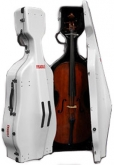 Stevenson Cello Case, with wheels - Fibreglass