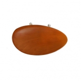 Flesch Boxwood Chinrest - 4/4 (No Hump)
