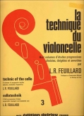 La Technique du Violoncelle Vol 3