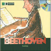 Ludwig van Beethoven, First Discovery - Music Book & CD
