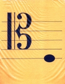 Tenor Clef Bilingual Flashcards for Cello