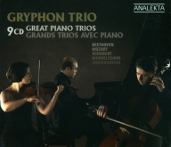 Gryphon Trio - Great Piano Trios - 9CD