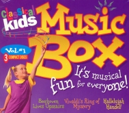 Classical Kids Music Box 3 CD Set Vol. 1