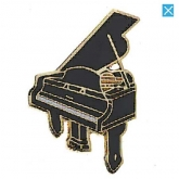 Piano Pin - Black