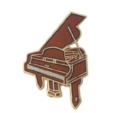 Piano Pin - Brown