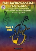 Creative Ability Development Book 1 Viola and CD