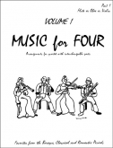 Music for Four (Violin1) - Vol. 1