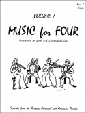 Music for Four (Viola) - Vol. 1