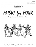 Music for Four (Cello) - Vol. 1