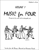 Music for Four (Keyboard/Guitar) - Vol. 1