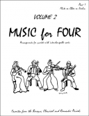 Music for Four (Violin1) - Vol. 2