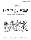 Music for Four (Keyboard/Guitar) - Vol. 2