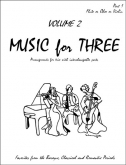Music for Three (Violin) - Vol. 2