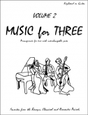 Music for Three (Keyboard/Guitar) - Vol. 2