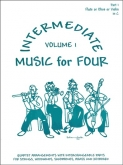 Music for Four Intermediate (Violin 1) - Vol. 1
