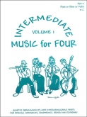 Music for Four Intermediate (Violin 2) - Vol. 1