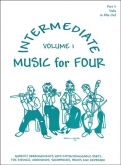 Music for Four Intermediate (Viola) - Vol. 1