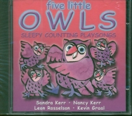 Five Little Owls CD Sleepy Counting Playsongs