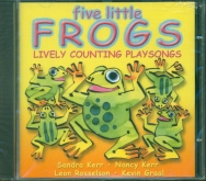 Five Little Frogs CD Lively Counting Playsongs
