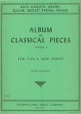 Album of Classical Pieces, Vol II