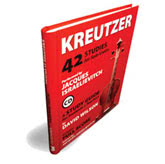 Kreutzer 42 Studies for Solo Violin - Guide and CD