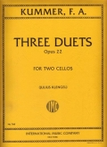Three Duets Op. 22 for 2 Cellos