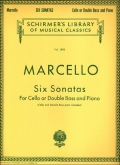Six Sonatas for Cello or Double Bass and Piano