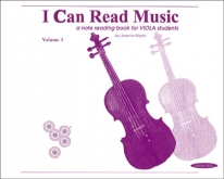 I Can Read Music - Viola - Volume 1