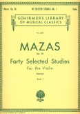 40 Selected Studies Op. 36 - Book 1