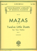 Twelve Little Duets, Op. 38 - Book 1
