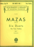 Six Duets, Op. 39 - Book 1