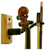 String Swing Violin Hanger - Large - Black Walnut