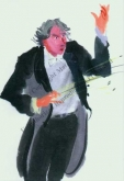 "Notecard - ""Conductor"" by Mary Woodin"
