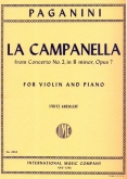 La Campanella from Concerto No.2 in B-, Op. 20