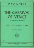 The Carnival  of Venice, Op.10, 20 Variations