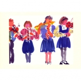 "Notecard - ""School Concert"" by Mary Woodin"