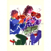 "Notecard - ""String Duet"" by Mary Woodin"