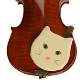 Fiddle Friends Cat Shoulder Rest - Regular