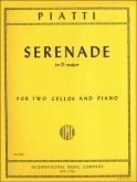 Serenade in D major forTwo Cellos and Piano