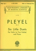 Six Little Duets, Op. 8