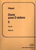 Duos for 2 Violins Vol. 2 Op. 48