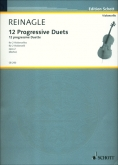 Twelve Progressive Duets for 2 Cellos Opus 2
