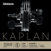 Kaplan Golden Spiral Solo Violin E String, Loop - heavy - 4/4