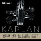 Kaplan Golden Spiral Solo Violin E String, Ball - medium - 4/4