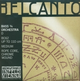 Belcanto Double Bass String D - medium