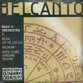 Belcanto Double Bass String E - medium