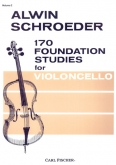 170 Foundation Studies for Violoncello, Volume 2