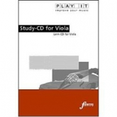 Play It Study CD - Viola - Schubert, Concerto C