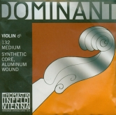 Dominant Violin Aluminum D String - medium - 4/4