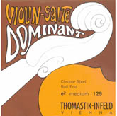 Dominant Violin Aluminum D String - medium - 4/4 - Straight